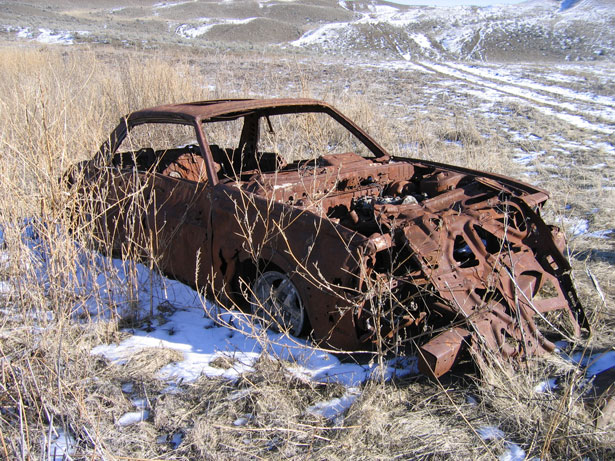 File:Abandoned car.jpg