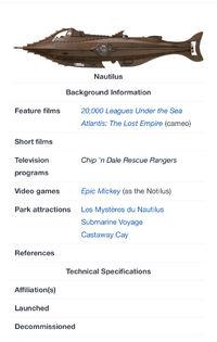 Nautilus non-PI