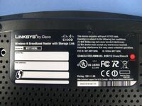 Linksys WRT160NL v1.0 FCCc