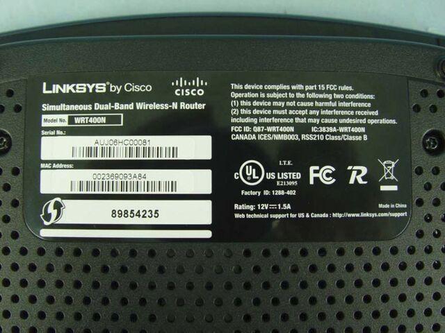 File:Linksys WRT400N v1.0 FCCd.jpg