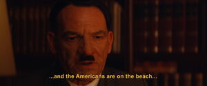 Hitler mentions the D-Day