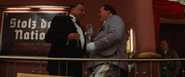 Emil Jannings and Hermann Göring laughing