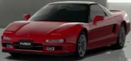 Honda NSX (New Formula Red, Black Top)