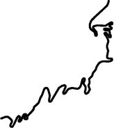 Map of Akagi