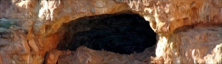 Canyon Cave Entrance