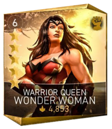 Warrior queen wonder woman