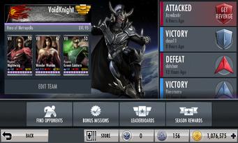 Online Battle interface