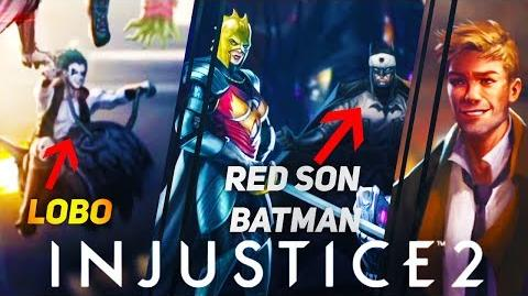 INJUSTICE 2 Upcoming Characters and Premier Skins?! (Constantine?)