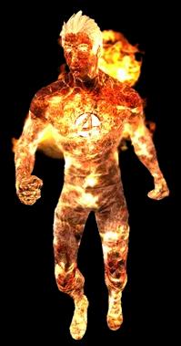 Human Torch (HD)