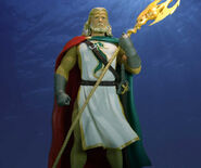 Kingdom Come Aquaman Figure by honestgeorge