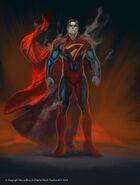Regime Superman Concept Art
