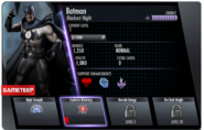 Blackest Night Batman IOS Stats