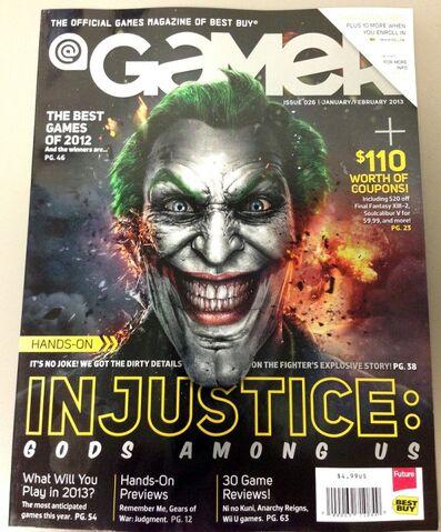 File:Joker on the Cover of GAMER Magazine.jpg