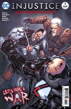 Injustice Ground Zero Issue 7 Cover