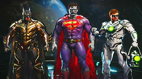 Injustice 2 - Bizzaro Update! + New Tournament Shaders on All Characters!