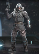 Captain Cold - Black Ice - Alternate