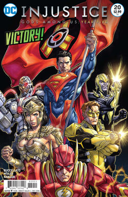 Injustice Gods Among Us Year Five Issue 20 Cover