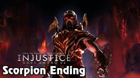 HD Injustice Gods Among Us - Scorpion Ending