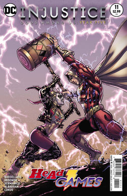 Injustice Gods Among Us Year Five Issue 11 Cover