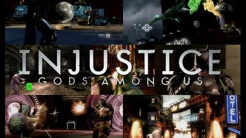 Injustice Gods Among Us All Quicktime Events