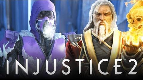 "Injustice 2 Mortal Kombat ""Sub-Zero"" Easter Eggs & References! Johnny Cage, Shang Tsung & More!"