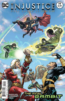 Injustice Gods Among Us Year Five Issue 19 Cover