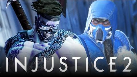 "Injustice 2 New ""Killer Instinct"" Diss & Sub-Zero ""UMK3 Ninja Shaders"" Easter Eggs & References!"