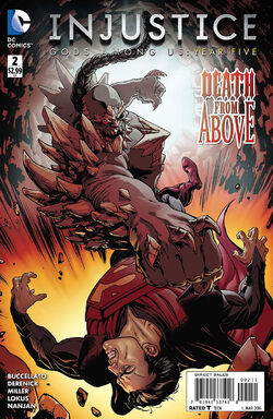 Injustice Gods Among Us Year Five Issue 2 Cover