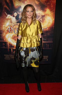 Sienna Guillory Inkheart New York Premiere