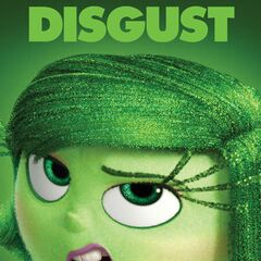 Character Poster of Disgust