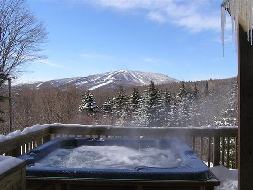 MT Snow hot tub