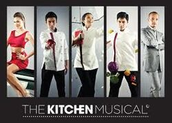 The Kitchen Musical logo