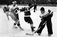 1954 World Ice Hockey Championships Canada vs Soviet