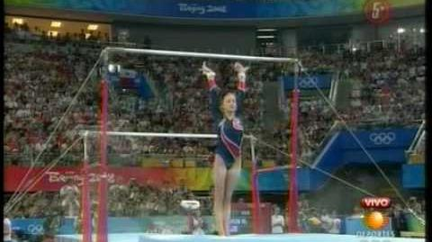 Nastia Liukin Uneven Bars Finals Beijing 2008