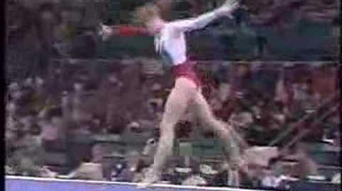 Dina Kochetkova - 1996 Olympics AA - Floor Exercise