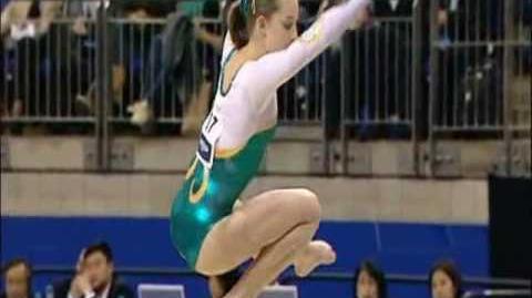 Lauren Mitchell (AUS) - 2009 Worlds BB EF