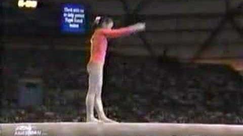 Li Li 1990 Goodwill Games Beam