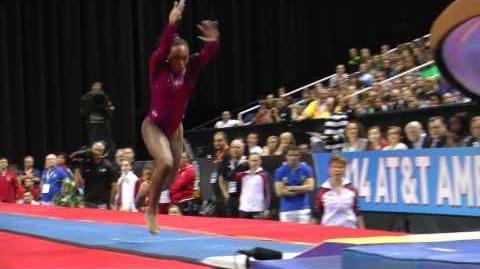 Elizabeth Price - Vault - 2014 AT&T American Cup