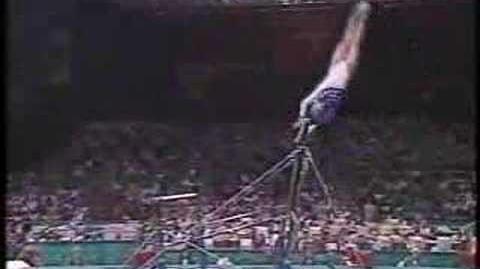 Shannon Miller - 1996 Olympics Team Optionals - Uneven Bars