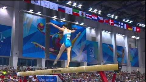 Zhang Yelinzi - Beam - 2013 Universiade EF - 15