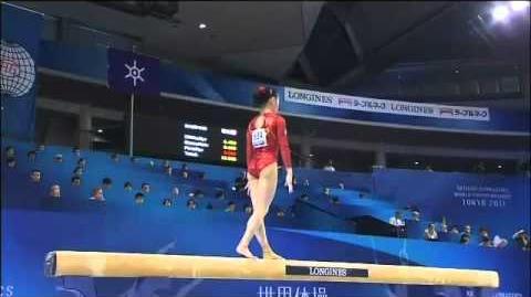 Sui Lu (CHN) 2011 Worlds EF BB