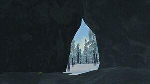 Hilltop Cave interior