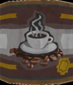 Tin of coffee