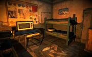 Signal Hill - radio shack bedroom