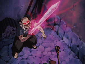 Kaijinbo's evil sword