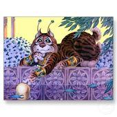 Alien kitty postcard-p239049118663126159qibm 400
