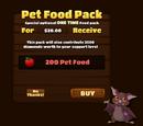 Pet Food Pack