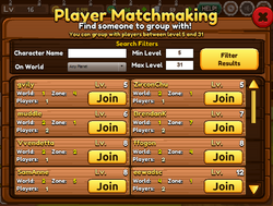 Player Matchmaking