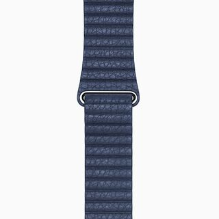 Midnight Blue Leather Loop Band