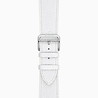 Blanc Hermes Single Strap Band